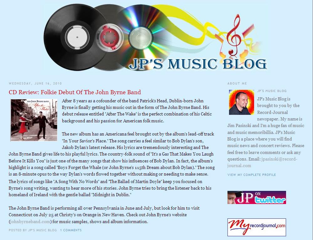 John Byrne Band - Official Website